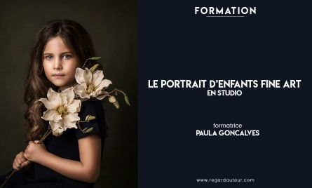 Le portrait d'enfants Fine Art en studio