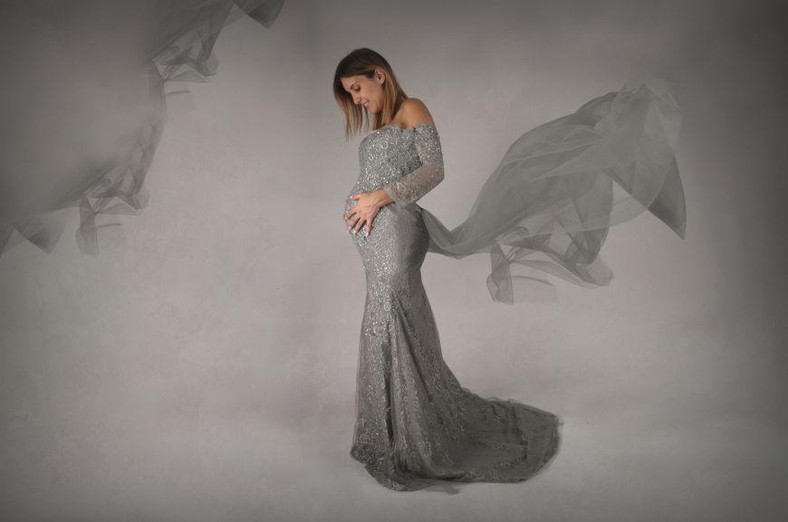 La séance grossesse de Tracy à Rouen