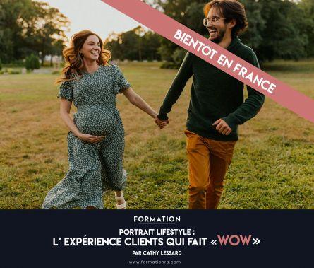 """Portrait lifestyle : l'expérience clients qui fait """"WOW"""""""