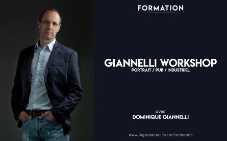 GIANNELLI WORKSHOP - Portrait / Pub / Industriel