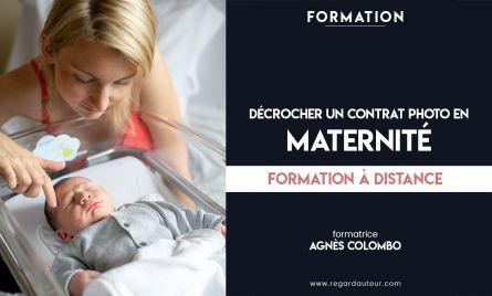 Formation à distance | Décrocher un contrat photo en maternité