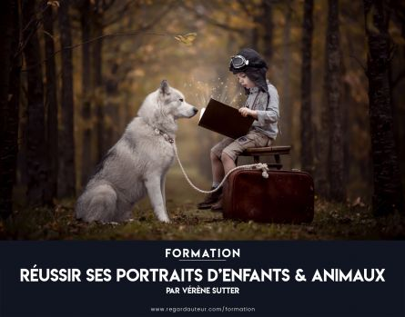 Formation à distance | Réussir ses portraits d'enfants & animaux