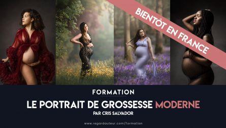 Le portrait de grossesse moderne