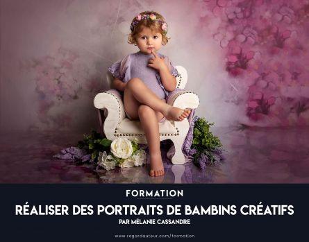 Réaliser des portraits de bambins créatifs