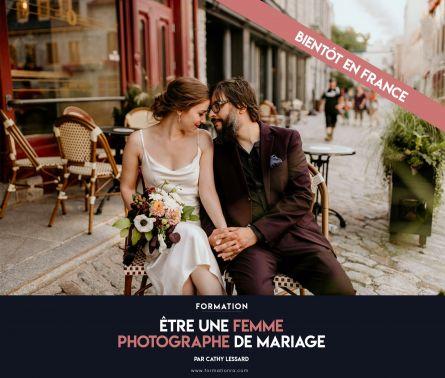 Être une femme photographe de mariage