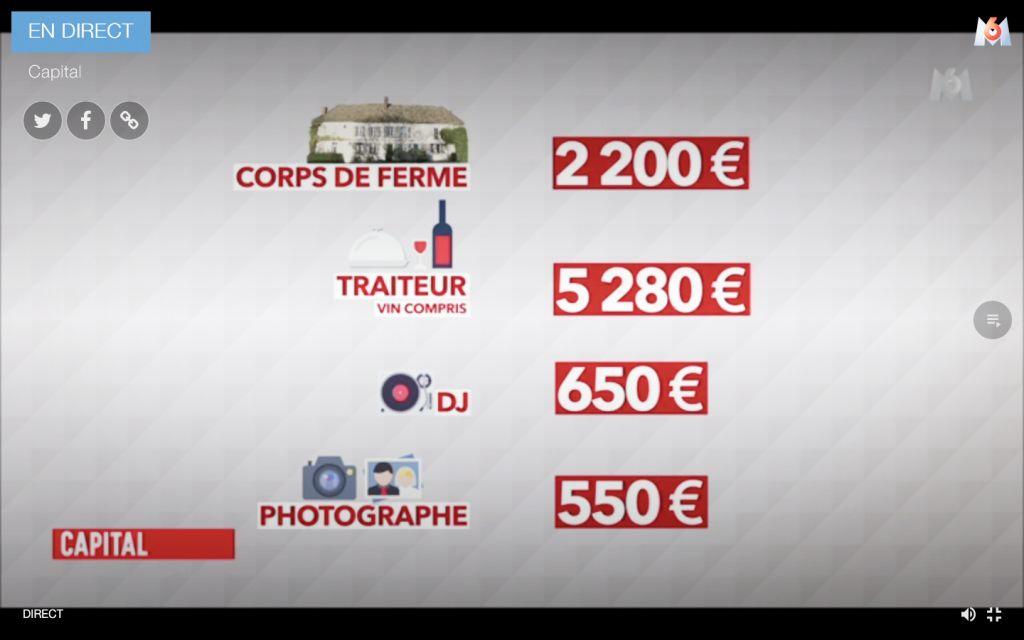 Un photographe de mariage à 550 euros !