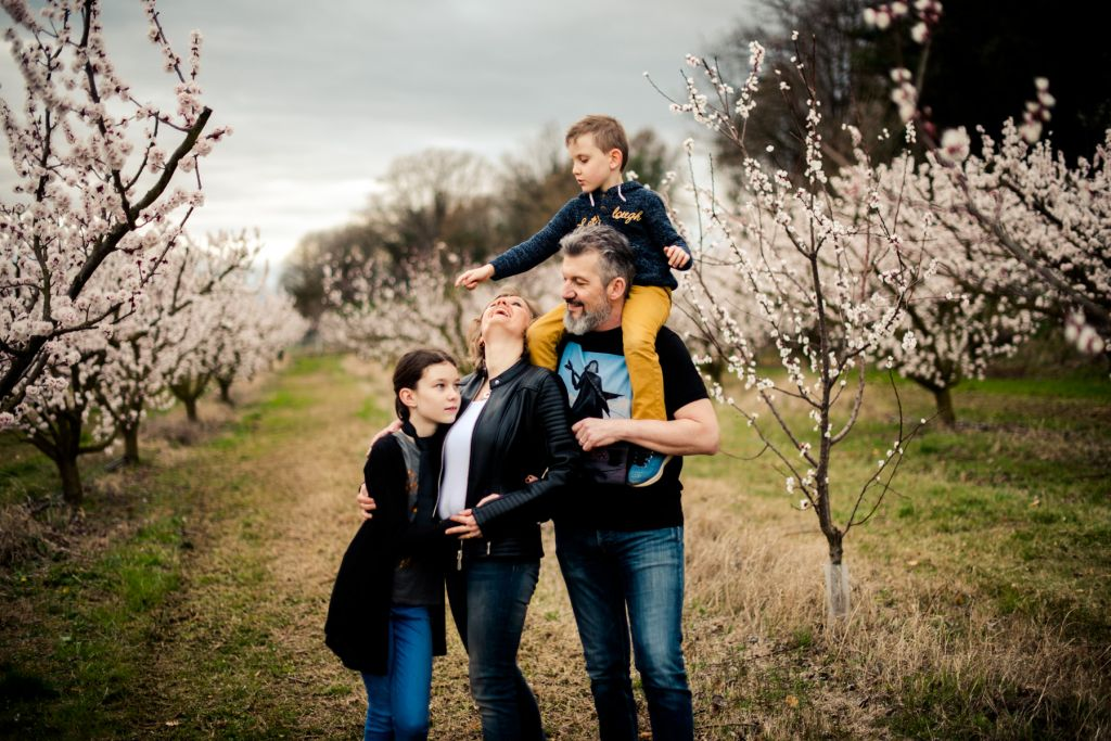 Shooting photo famille nature