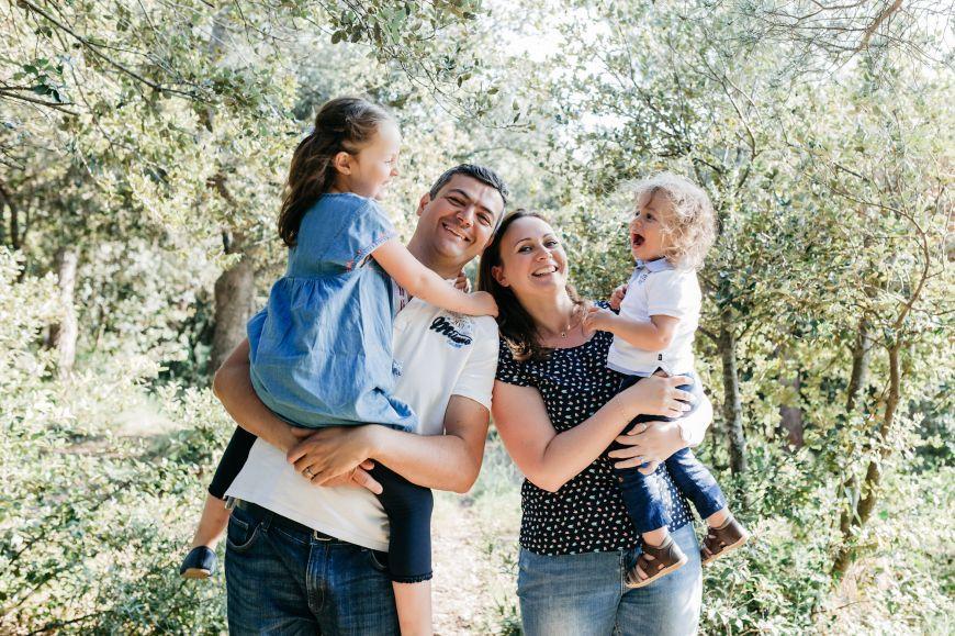 shooting photo famille lumière naturelle