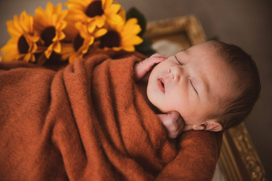 photo naissance automnale
