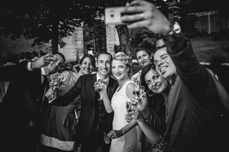 photo de groupe originale selfie