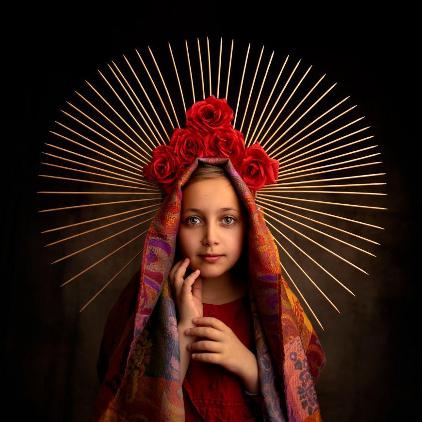 portrait enfant jeune fille