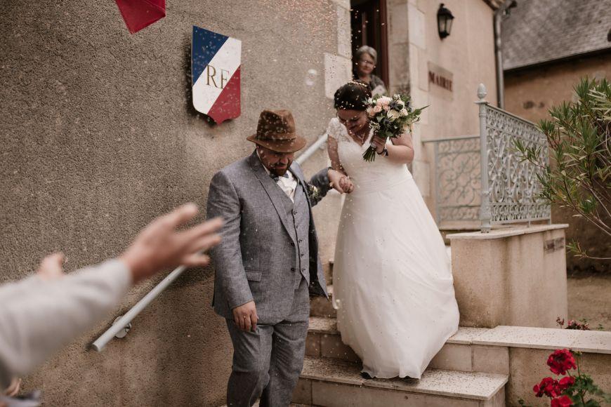 Photographe mariage au Château de Sarzay