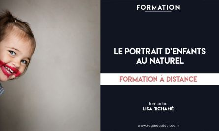 Formation à distance | Le portrait d'enfants au naturel