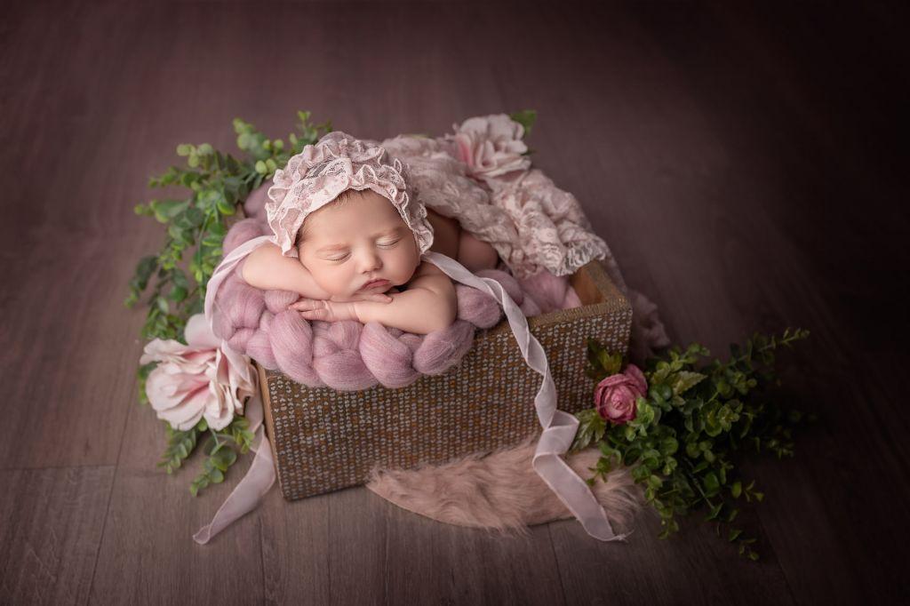 Photographe portrait bébé bassin d'Arcachon Melanie Cassandre Regard d'auteur
