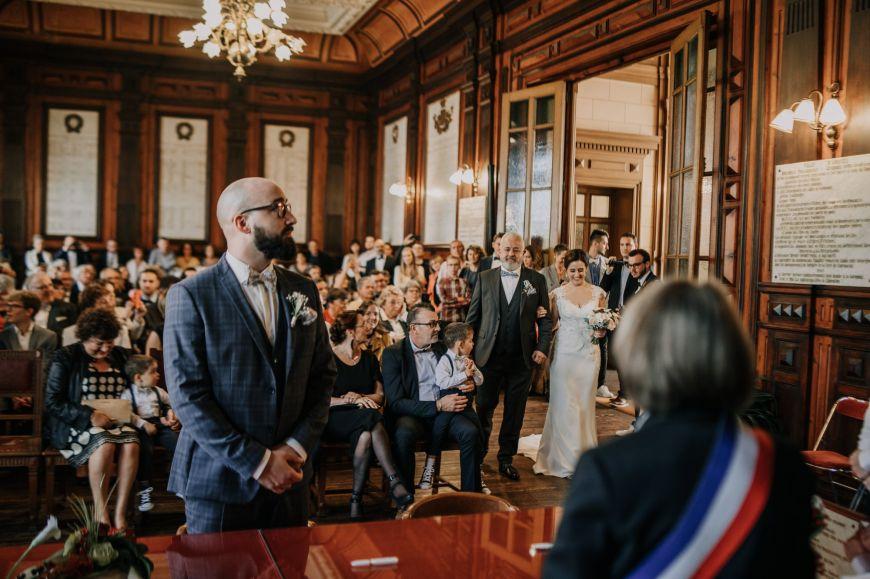 mariage au Manoir des Burets
