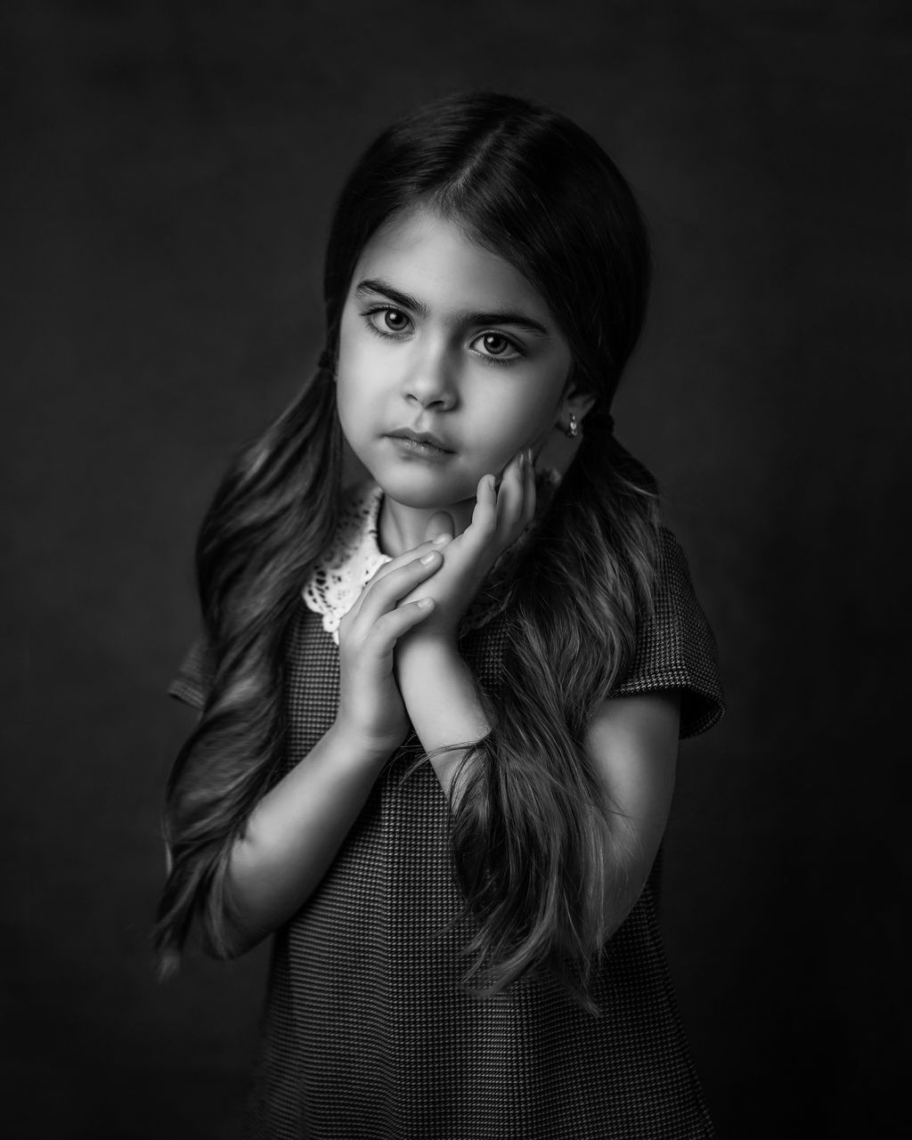 Portrait d'enfant fine art | studio 2
