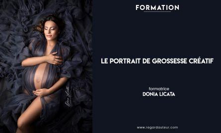 Le portrait de grossesse créatif | Donia Licata