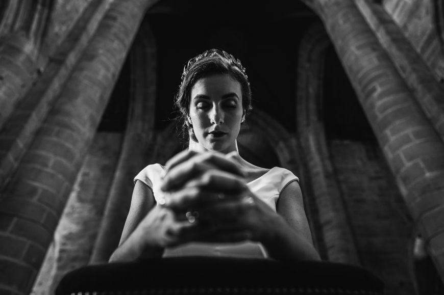 The bride - portrait de la marie?e Patrick Lombaert ra-112