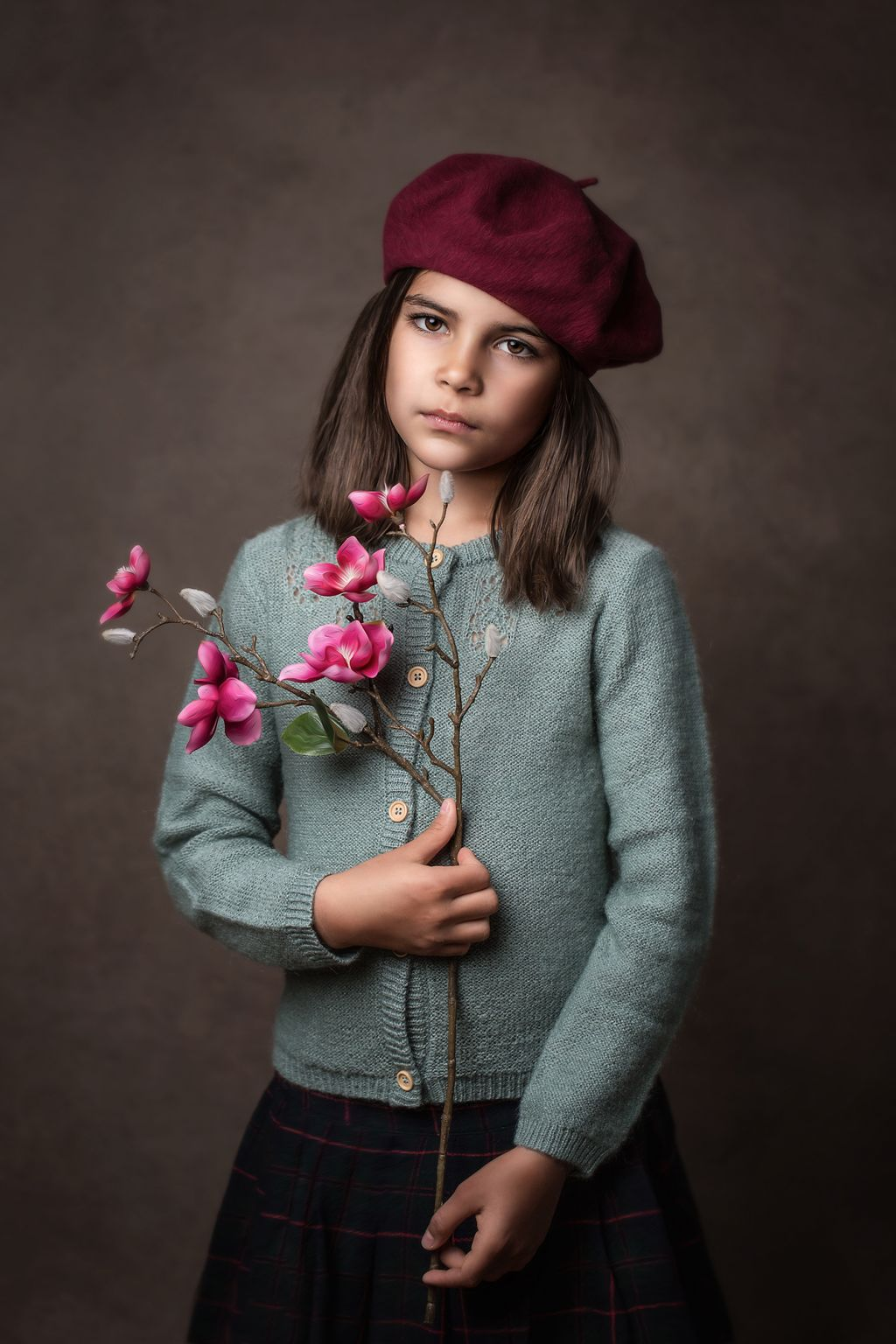 Portrait enfant fine art Paula Goncalves Regard d'auteur