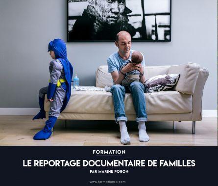Le reportage documentaire de familles